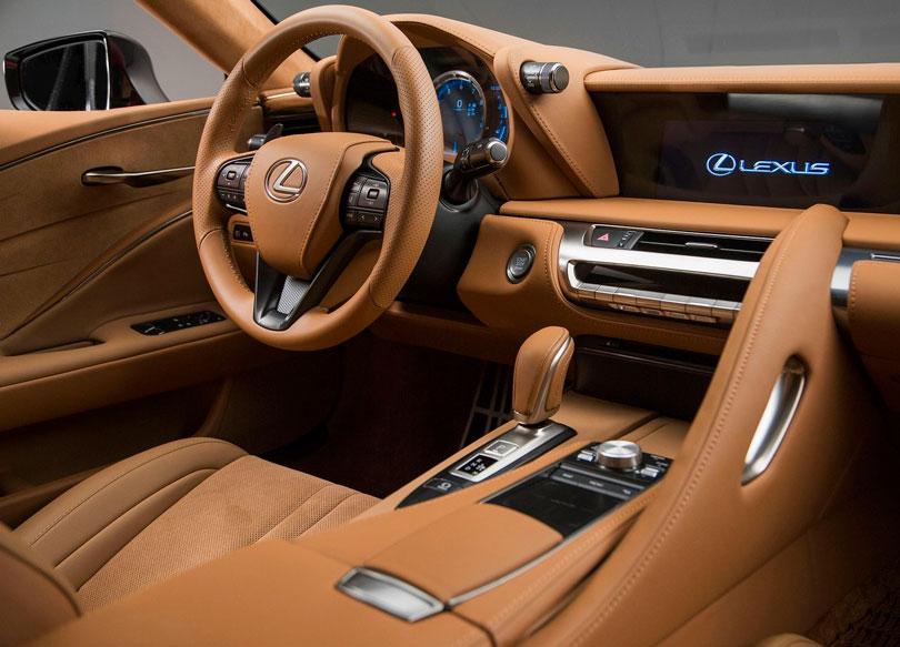 Lexus LC 500 2017 interior
