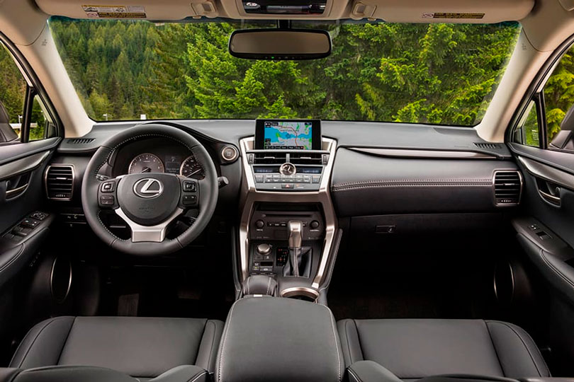 Lexus NX200t 2017 interior
