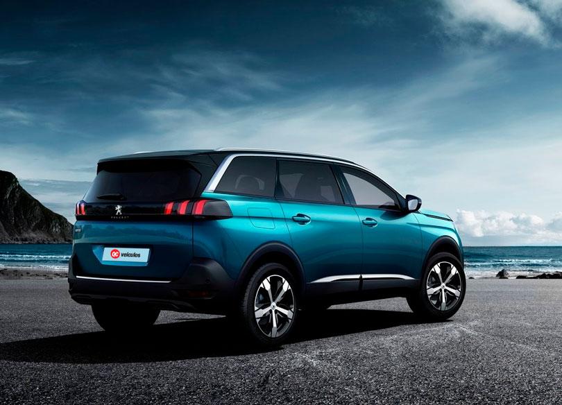 Peugeot 5008 2018 traseira