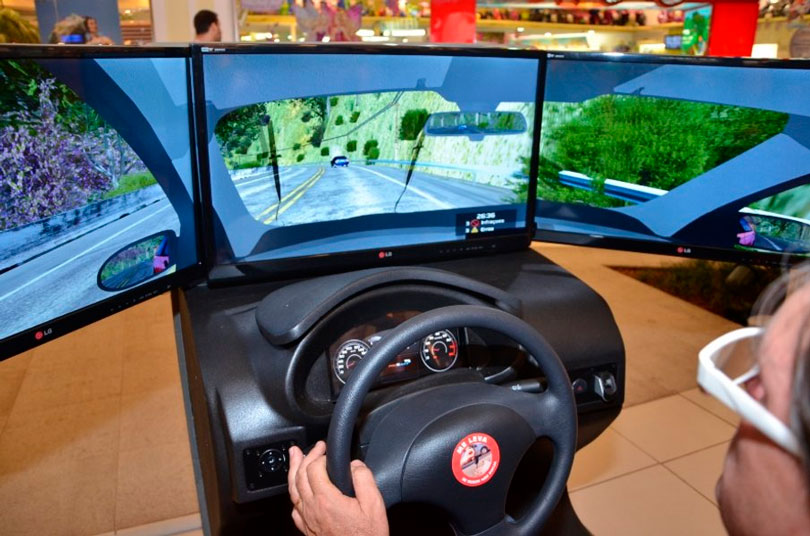 Simulador de direção