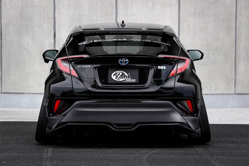 Toyota C-HR Rodas negativas