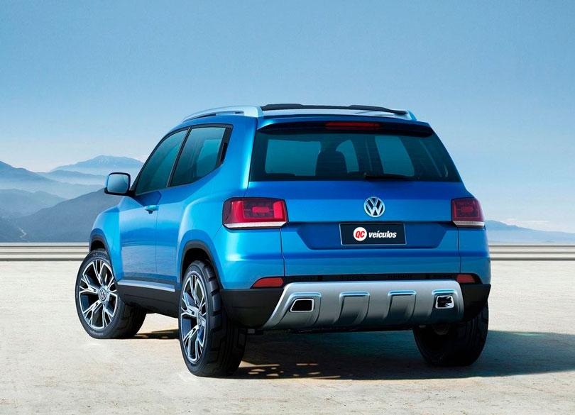 VW Taigun 2020 traseira