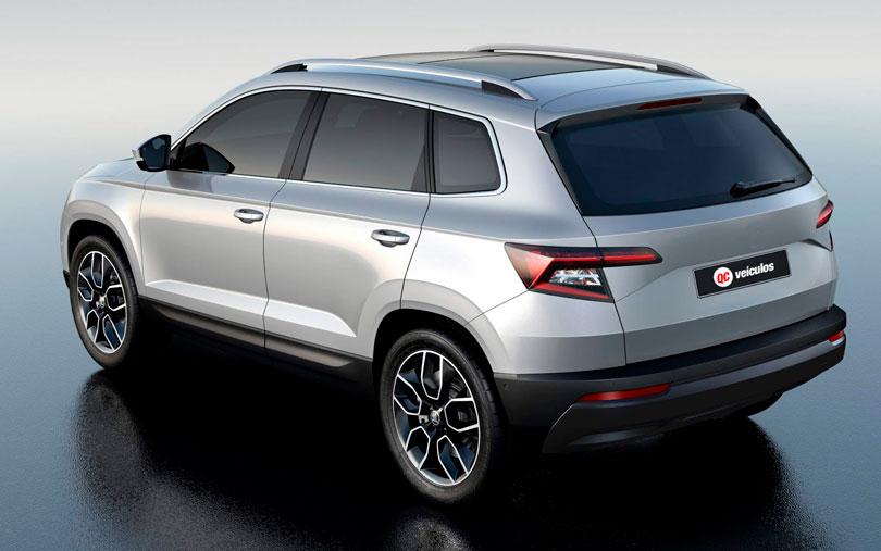 VW Tharu 2018 Skoda Karoq traseira