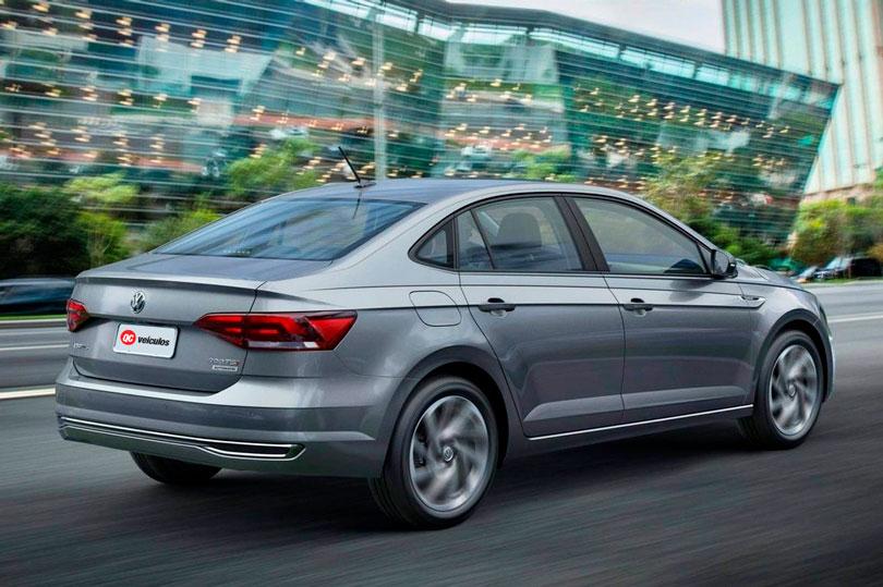 VW Virtus 2018 traseira