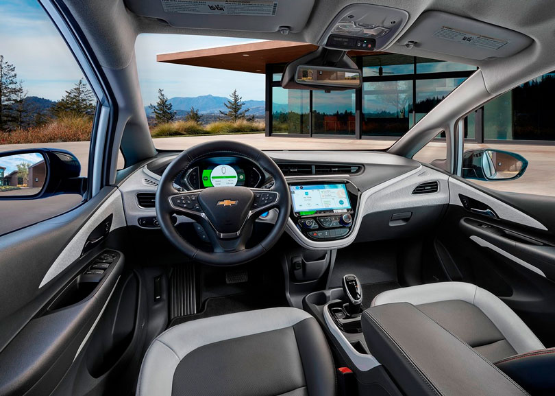 Chevrolet Bolt EV 2019 interior
