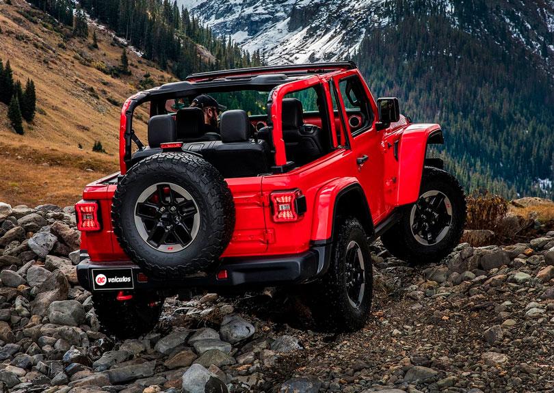 Jeep Wrangler 2018 traseira