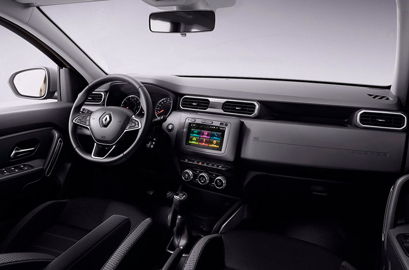 Renault Duster 2019 interior