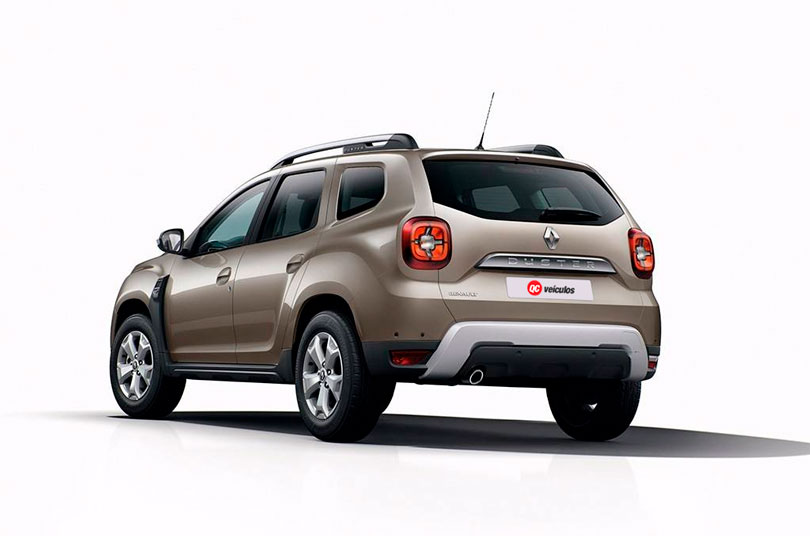 Renault Duster 2019 traseira