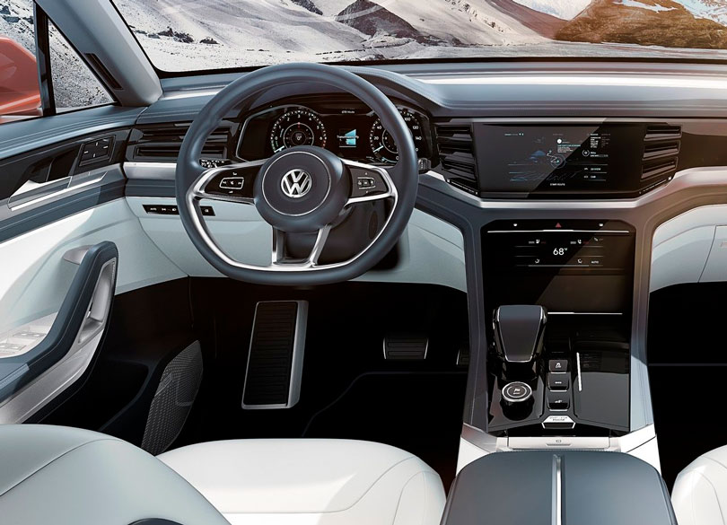 Volkswagen Atlas Cross Sport 2018 interior
