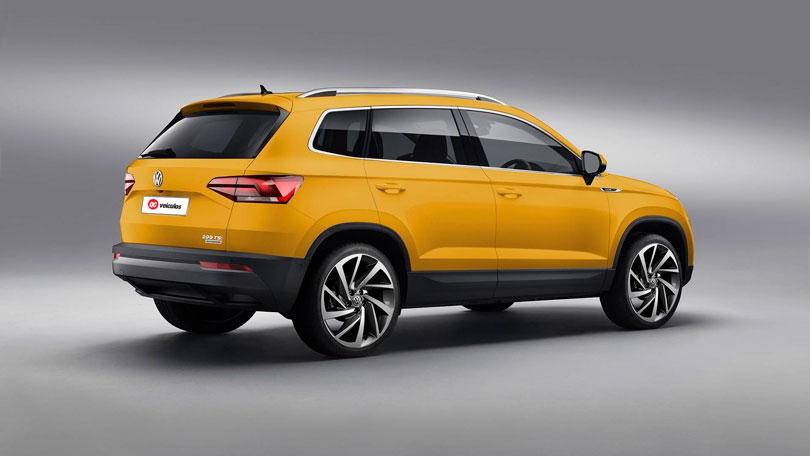 Volkswagen Tarek 2020 traseira