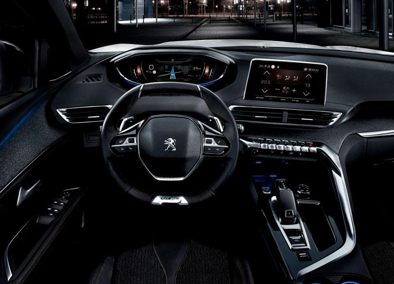 Peugeot 5008 2019 interior