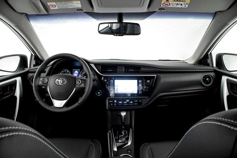 Toyota Corolla 2019 interior