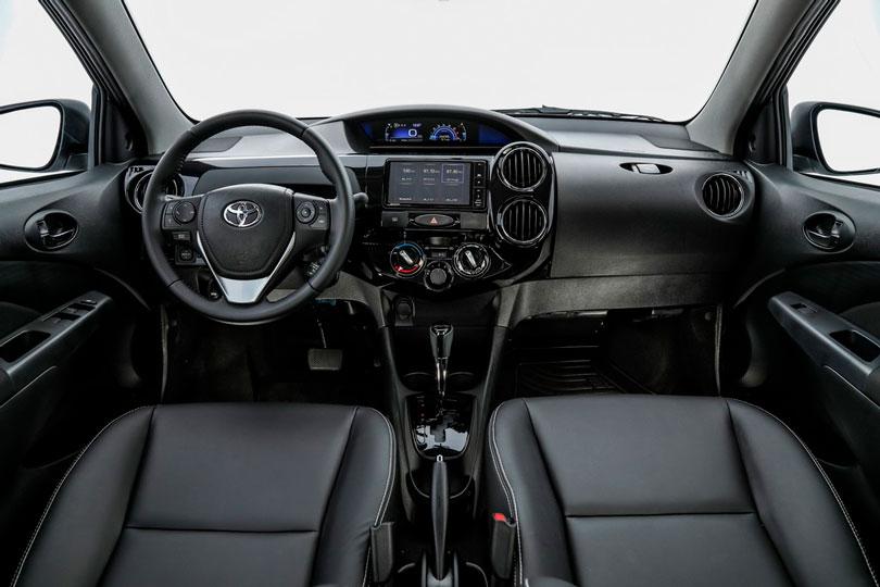 Toyota Etios 2019 interior