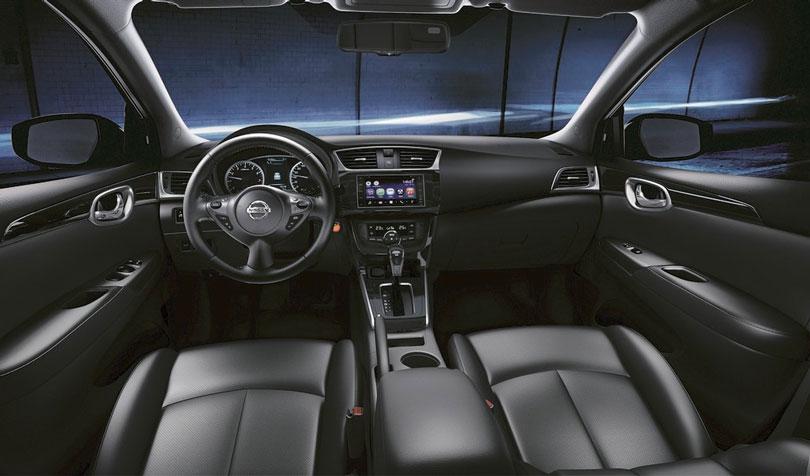 Nissan Sentra 2019 interior