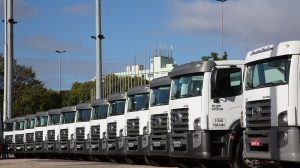 Reciclagem de caminhões